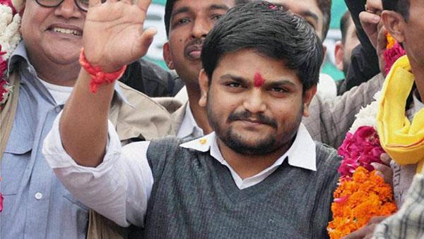 National, Hardik Patel, Hunger strike
