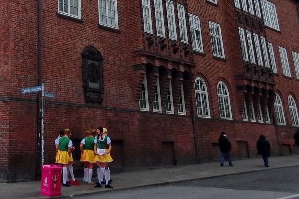 Hamburg, Kiez, Reeperbahn, St. Pauli, Jungesellenabschied, Verkleidung
