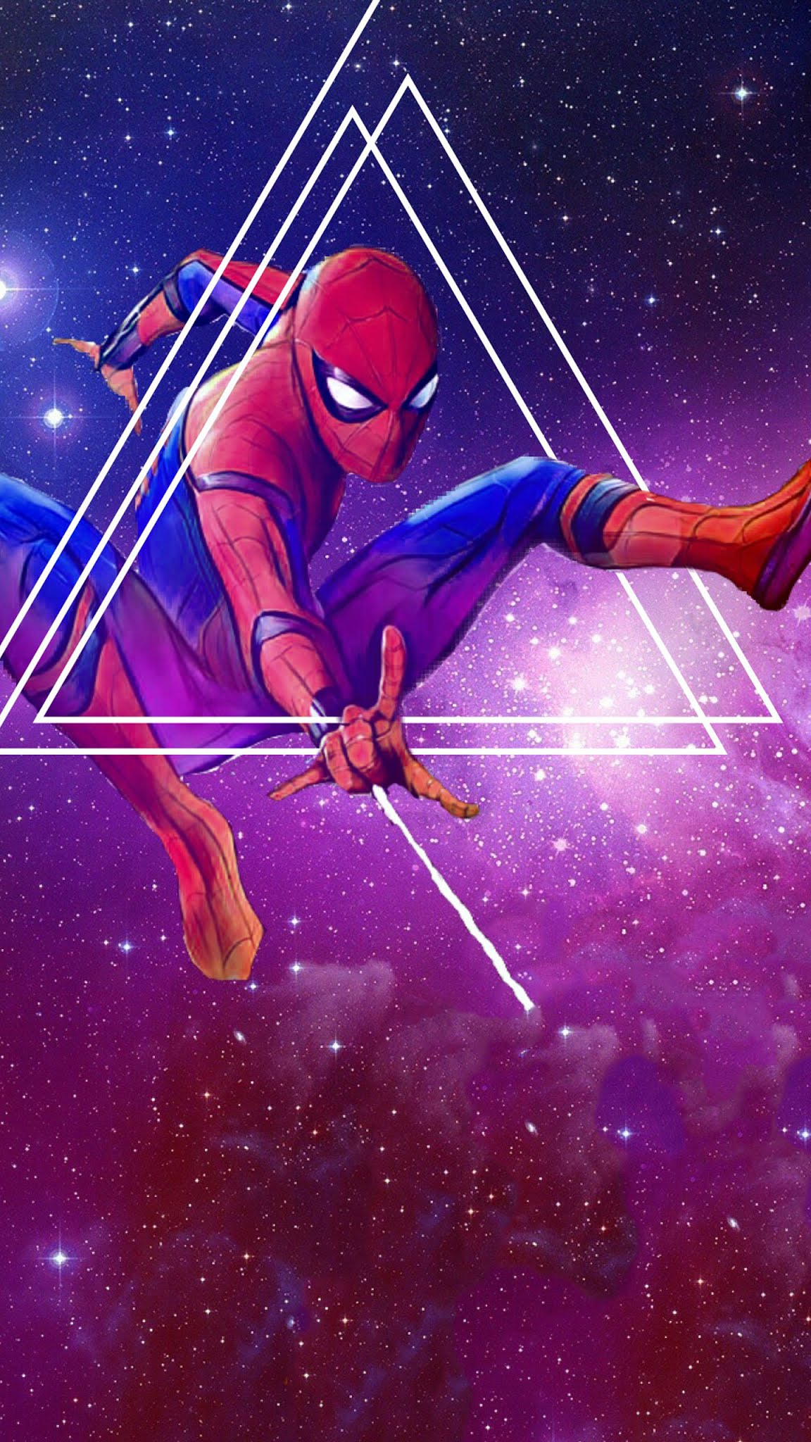 Spiderman avengers infinity war artwork mobile wallpaper