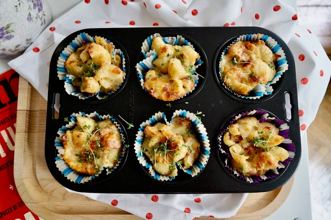 Mac 'n' Cheese Muffins