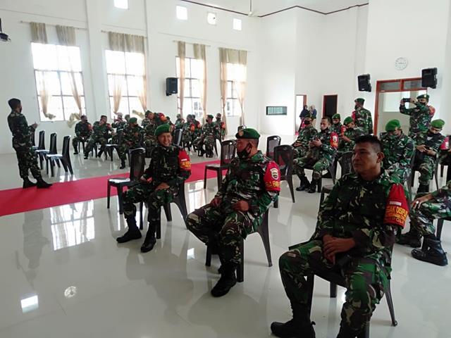 Penyuluhan P4GN Turut Serta DIhadiri Personel Jajaran Kodim 0207/Simalungun