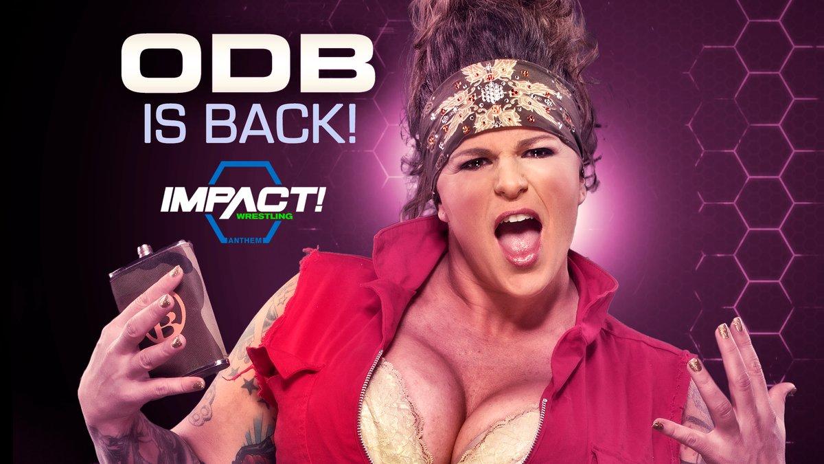 ODB ainda pretende voltar para a Impact Wrestling