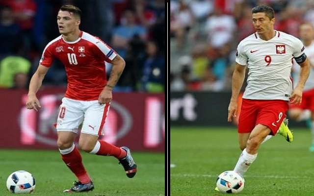 Switzerland vs Poland and Croatia vs Portugal at UEFA Euro 2016 Live