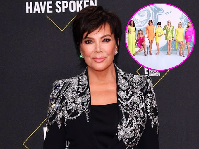 Kris Jenner Reacts To Rumors She's Joining The Real Housewives Of Beverly Hills!