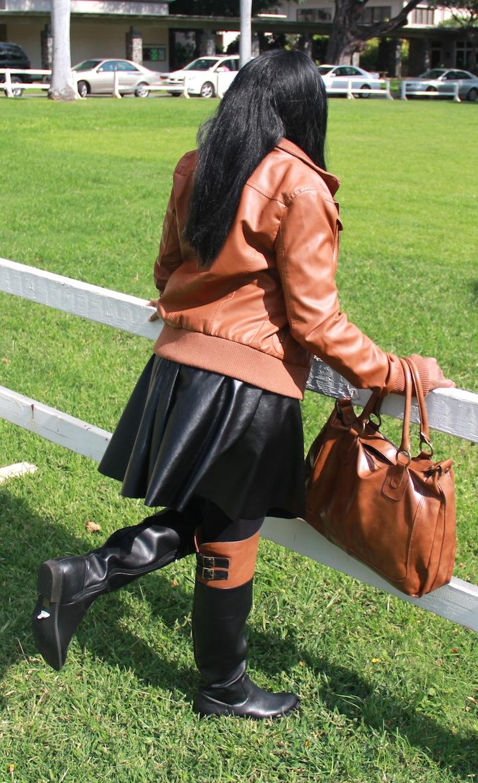 Peekayboo Closet Equestrian Riding Boots Amp Skater Skirt