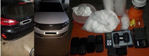 بالصورة...إعتقال شبكة إجرامية متكونة من 6 أشخاص من دول إفريقيا تنشط في تهريب وترويج المخدرات والمؤثرات العقلية✍️👇👇👇