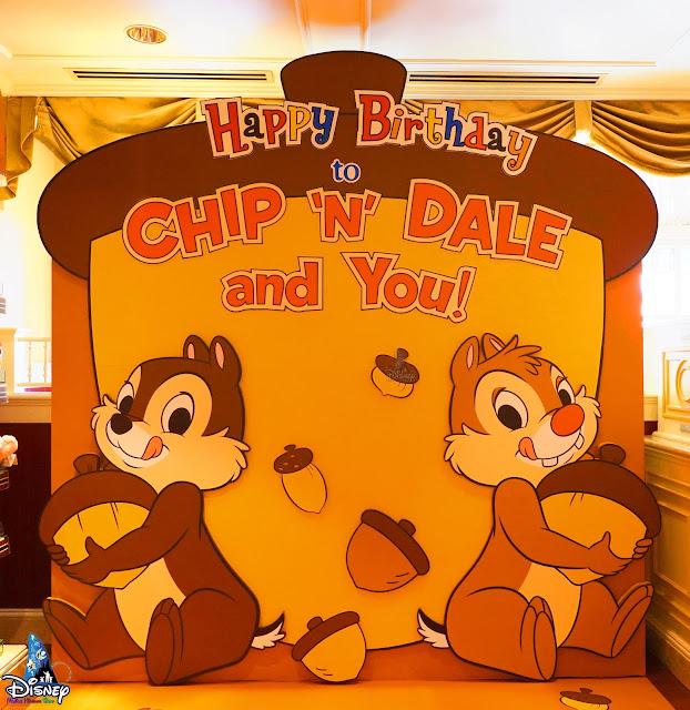 Hong-Kong-Disneyland-Chip-n-Dale-78th-Anniversary-Birthday-Photo-Spot-2021, 香港迪士尼樂園 2021年Chip 'n' Dale 生日拍照點