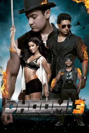 Download Dhoom 3 (2013) Hindi Movie 480p | 720p BluRay 600MB | 1.5GB