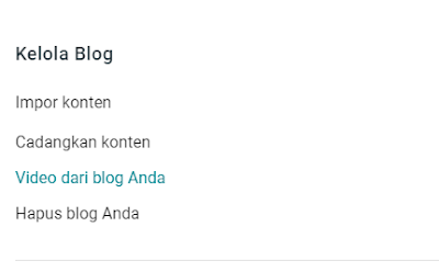 Cara Hapus Blog Pada Blogger dengan Benar