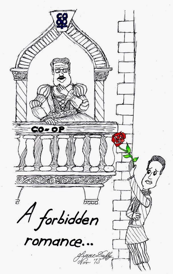 #ThingsElliottSays: Cartoon: A Forbidden Romance