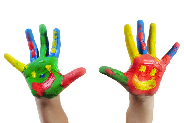 children hands clipart - photo #16