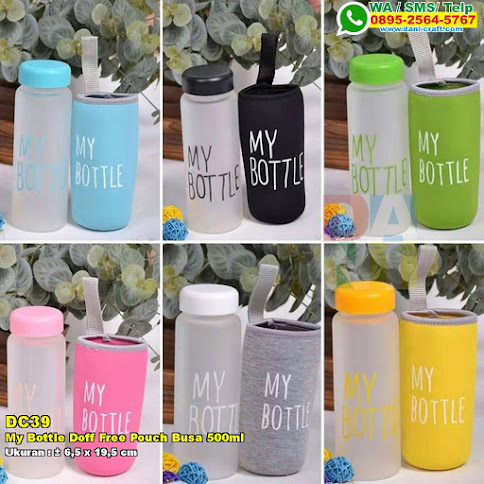 My Bottle Doff Free Pouch Busa 500ml
