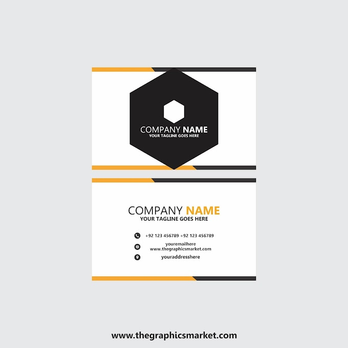 Company Visiting Card Design   Free Download