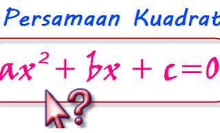 Mencari penyelesaian persamaan kuadrat dengan menggunakan pemfaktoran dan melengkapkan kuadrat sempurna