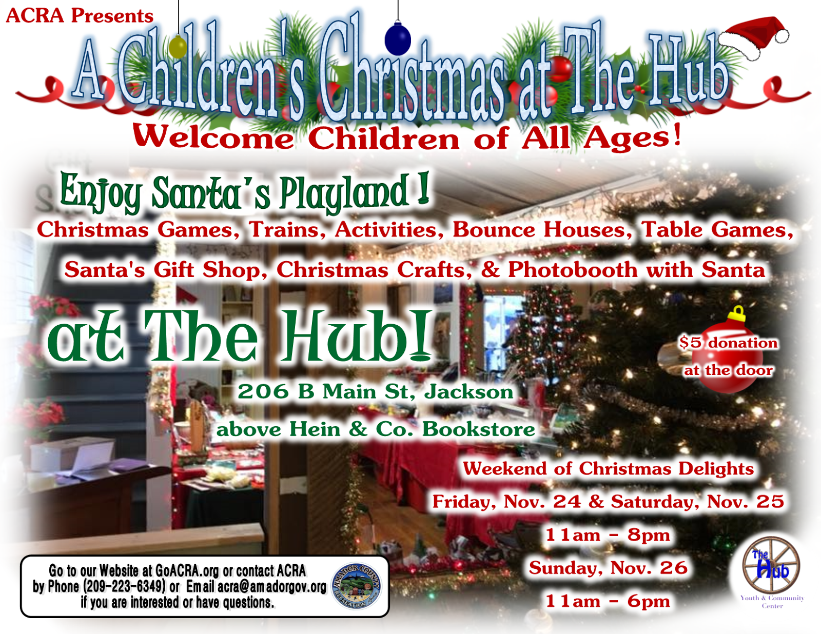 A Children's Christmas at The Hub