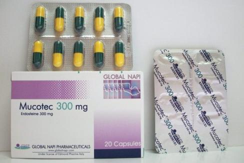 سعر ودواعى إستعمال دواء ميوكوتك Mucotec كبسولات لعلاج السعال