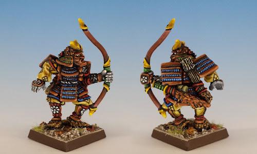 Talisman Samurai, Citadel Miniatures (sculpted by Aly Morrison, 1986)