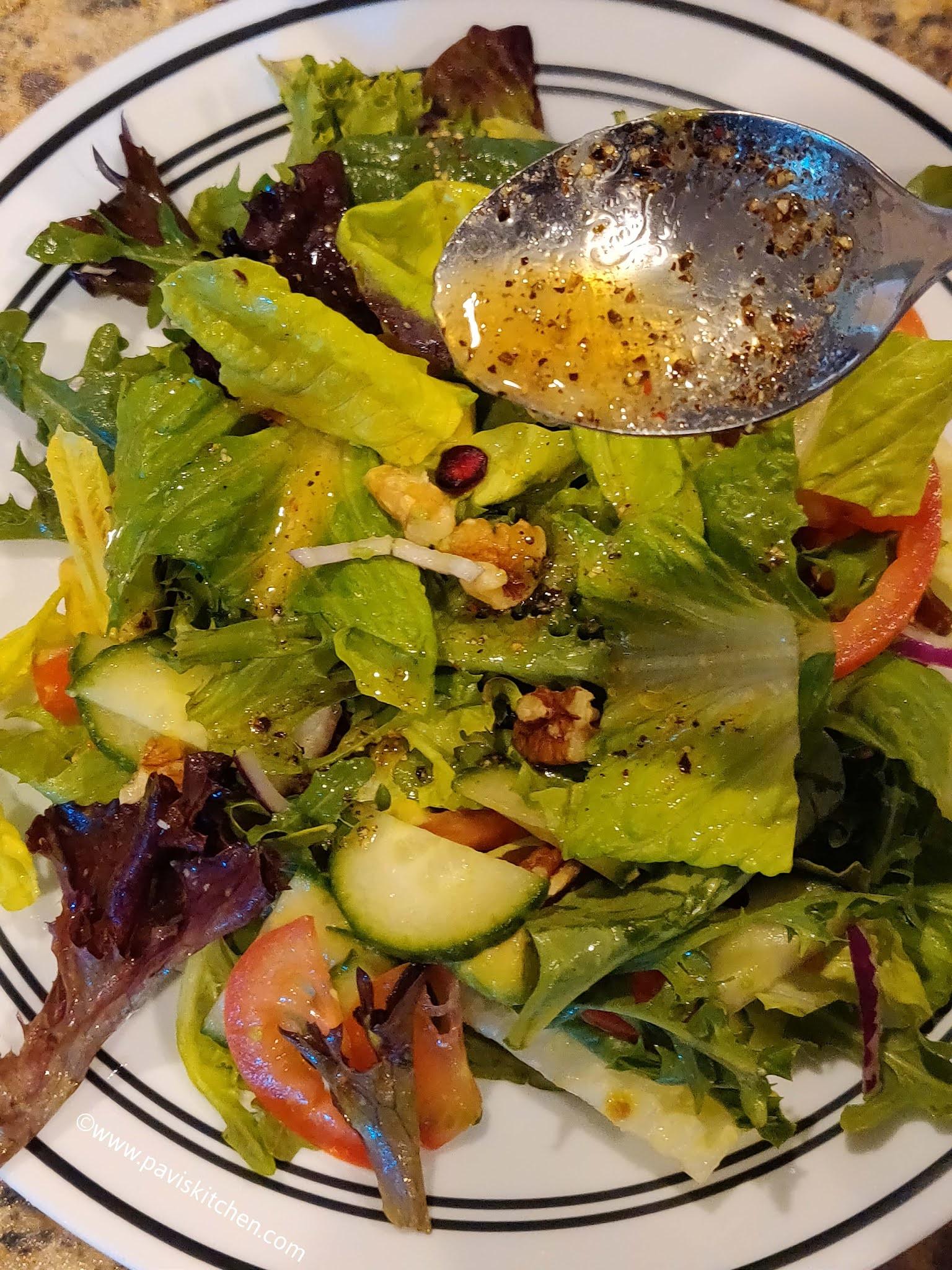 Mixed vegetable salad recipe   Indian chopped salad   Green salad recipe
