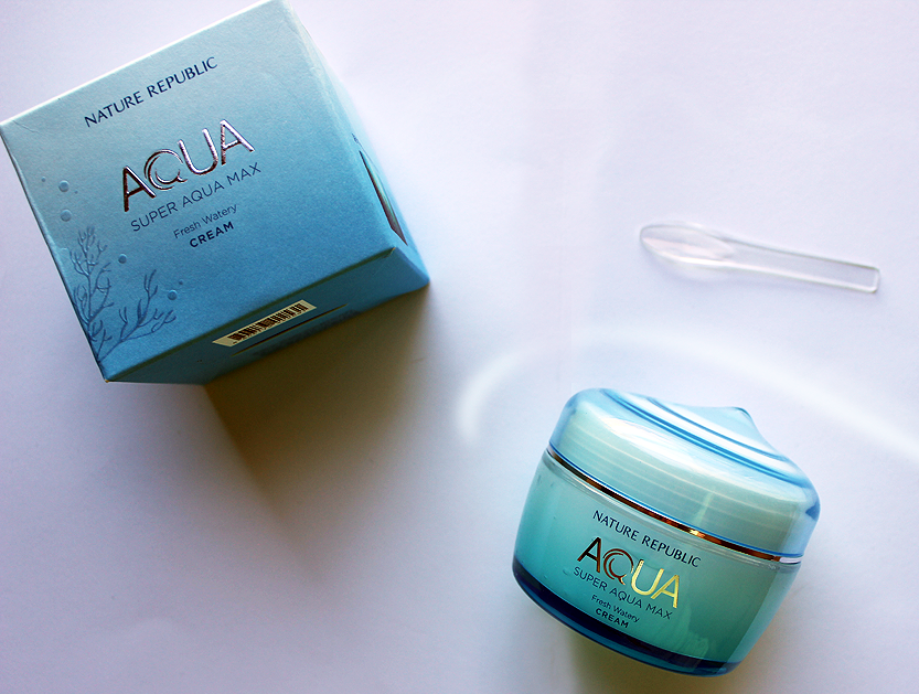Nature Republic Super Aqua Max Fresh Watery Cream review