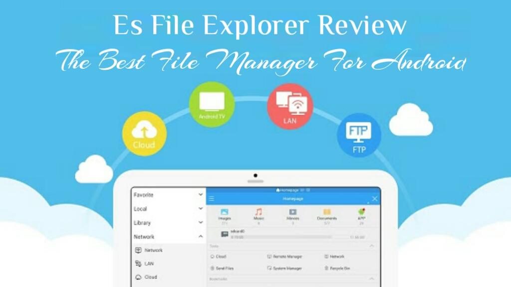 Clash Of Clan Fan: Es File Explorer Review: The Best File