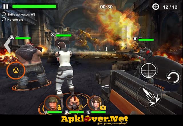 DEAD WARFARE Zombie MOD APK unlimited ammo