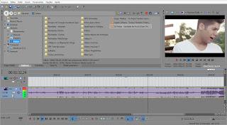Hora de Editar Vídeos no Vegas 1. Editando vídeos do cantor Zé Felipe. Desenvolvimento DRF Designer.