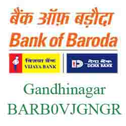 Vijaya Baroda Bank Gandhinagar Branch New IFSC, MICR