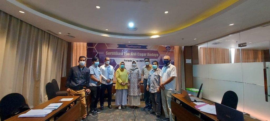 Tujuh Orang Utusan Kota Batam Yang Berkompeten lulus sebagai Ahli Cagar Budaya Pratama