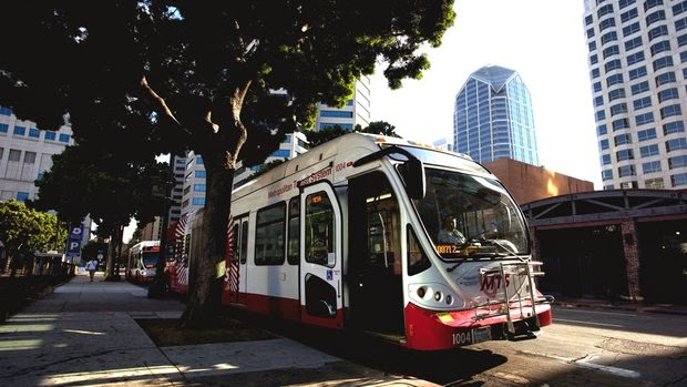 Transporte público em San Diego na Califórnia
