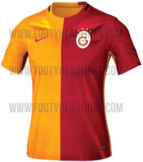 berita bocoran musim depan enkosa sport Jersey Kandang Galatasaray 2015/2016