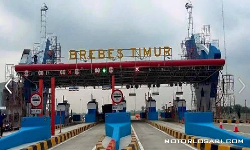 Pembangunan jalan tol pejagan-brebes timur