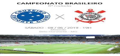 Como assistir Cruzeiro x Corinthians ao vivo na TV e online