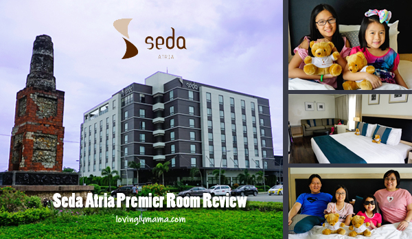 family stay - Seda Atria premier room review - Iloilo City - Iloilo hotels - Bacolod blogger - Bacolod family blogger - kids - Sedy bear - Seda mascot - Pison chimney monument - Philippines hotels