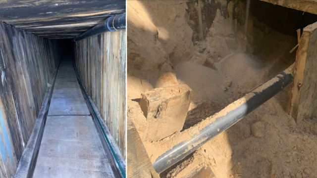 ICE uncovers 400m smuggling railway under Arizona-Mexico border---- 'Most sophisticated tunnel in US history'?