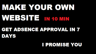 Make Your Own Website In 10 Minute