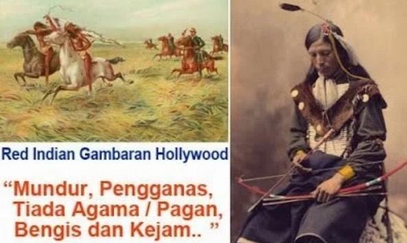 Red Indian Adalah Suku Kaum Yang Ramai Beragama Islam