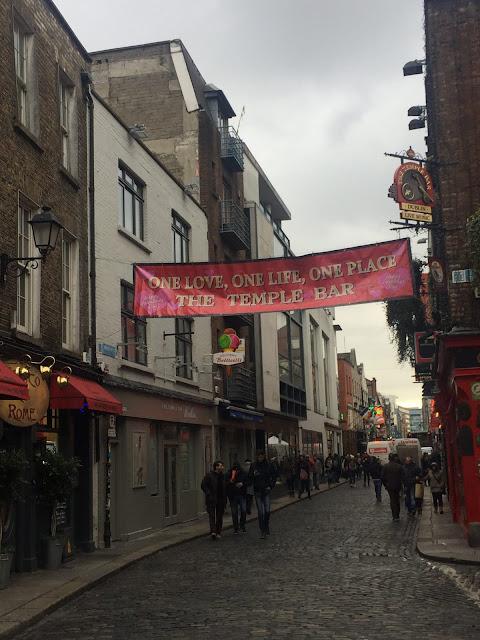 Dublin city break, Temple Bar