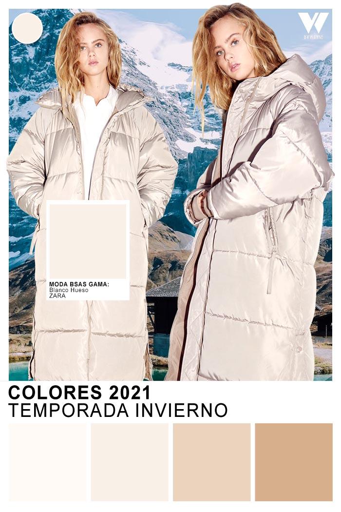 Plateados y metalizados otoño invierno 2021 colores
