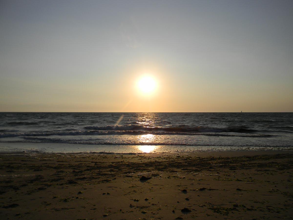 Couché de soleil, île d'Oléron