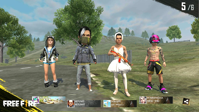 Bahas Detail Mode Terbaru BIG HEAD Advance Server Free Fire