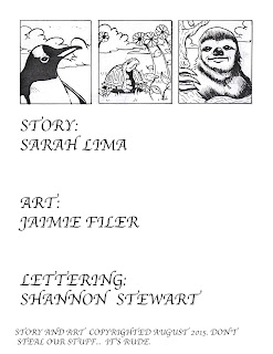 Slow beast master comic Sarah Lima Jaimie Filer Shannon Stewart