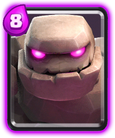 Carta Golem de Clash Royale - Wiki da Carta