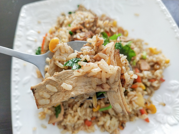 台中太平恩恩越南素食,炒飯、河粉、現炒等,平價又美味