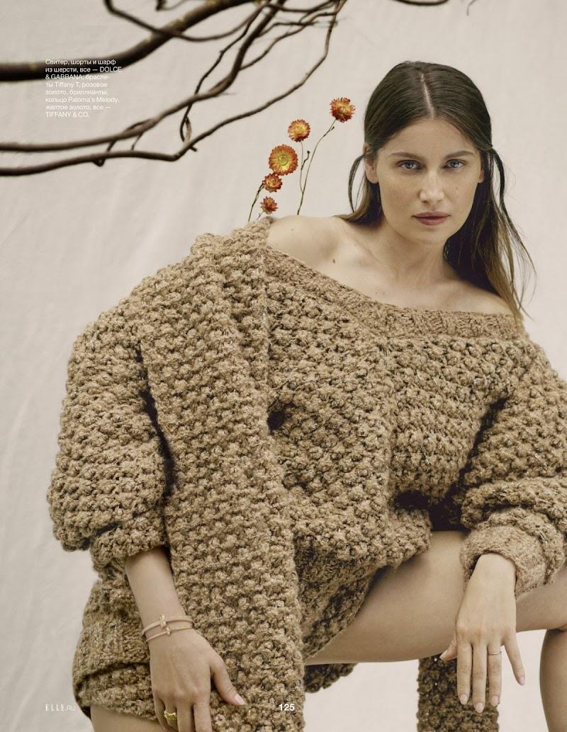 Laetitia Casta Featured in Elle Magazine -Russia September 2020