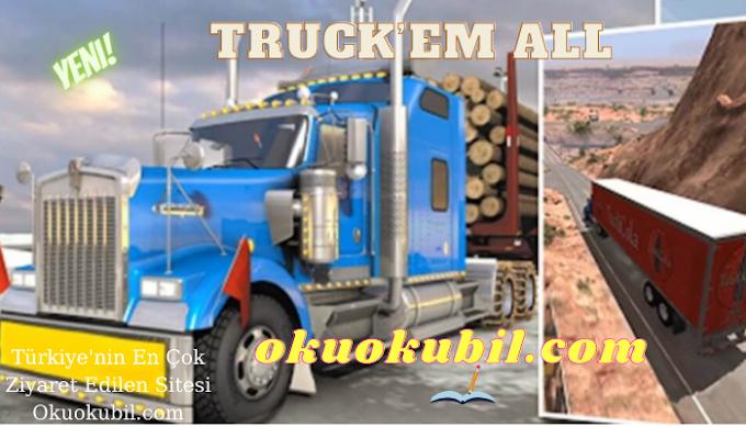 Truck'em All v1.0.5 Sınırsız Para Hileli Mod Apk İndir Son Sürüm