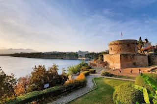 antalya'da gezilecek yerler karaalioğlu parkı