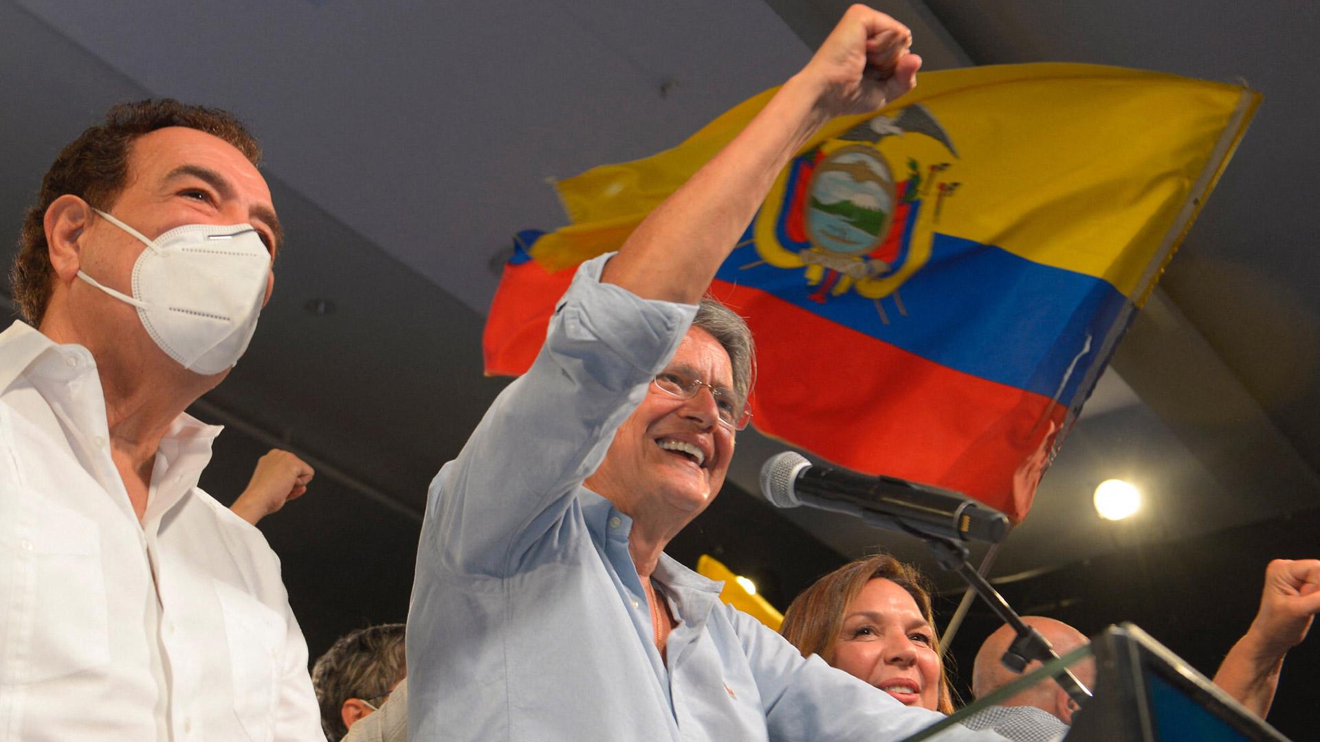 Guillermo Lasso derrotó a Andrés Arauz y fue electo presidente de Ecuador