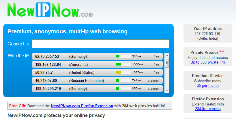 Download united states ip address
