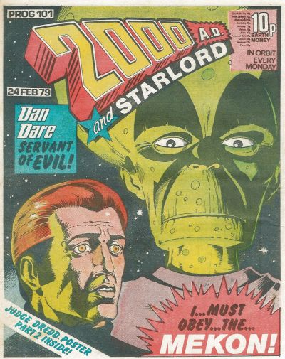 2000 AD, Prog 101, Dan Dare and the Mekon