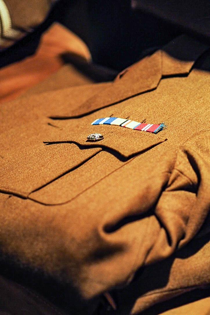 1940s military uniform